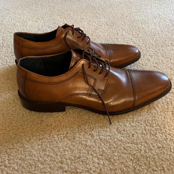 Johnston & Murphy Cormac Cap Toe Shoes